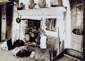 Kitchen as it appeared in 1914