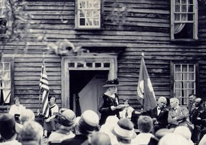 Dedication of the Thomas Lee House, 1914