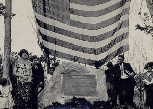 Dedication of the Bride Brook Monument