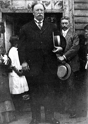 William Howard Taft at the Thoams Lee House, June 1915