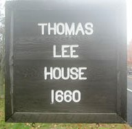 Thomas Lee House sign